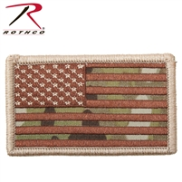 Rothco American Flag Patch - Multicam