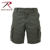 Rothco Vintage Solid Paratrooper Cargo Short - Olive Drab - 2XL