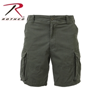 Rothco Vintage Solid Paratrooper Cargo Short - Olive Drab - 3XL