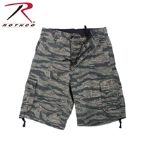 Rothco Vintage Camo Infantry Utility Shorts - Tiger Stripe - 2XL