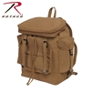 Rothco Canvas European Style Rucksack - Coyote