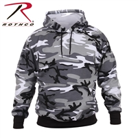 Rothco Pullover Hooded Sweatshirt - City Camo - 2XL