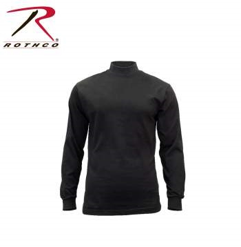 Rothco Mock Turtleneck Black