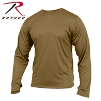 Rothco Gen III Silk Weight Underwear Top - Coyote - 2XL