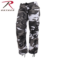 Rothco Womens Paratrooper Colored Camo Fatigues - City