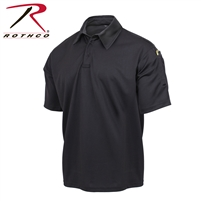 Rothco Tactical Performance Polo - Black - Large