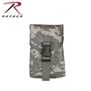 Rothco MOLLE II100 Round Saw Pouch - ACU