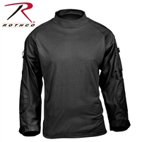 Rothco Tactical Airsoft Combat Shirt - Black