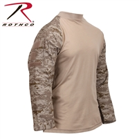 Rothco Tactical Airsoft Combat Shirt - Desert Digi