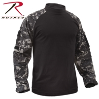 Rothco Tactical Airsoft Combat Shirt - Subdued Urban
