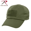Rothco Tactical Operator Cap With US Flag - Olive Drab