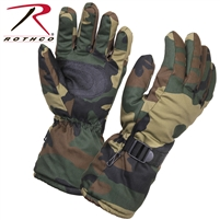 Rothco Extra Long Insulated Gloves - Woodland