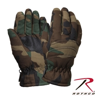 Rothco Insulated Hunting Gloves - Woodland