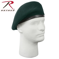 Rothco G.I. Type Inspection Ready Beret - Green 7 1/4