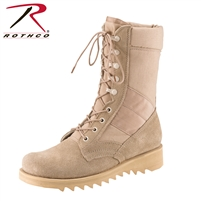 Rothco Ripple Sole Jungle Boots - Desert Tan