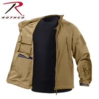 Rothco Concealed Carry Soft Shell Jacket - Black