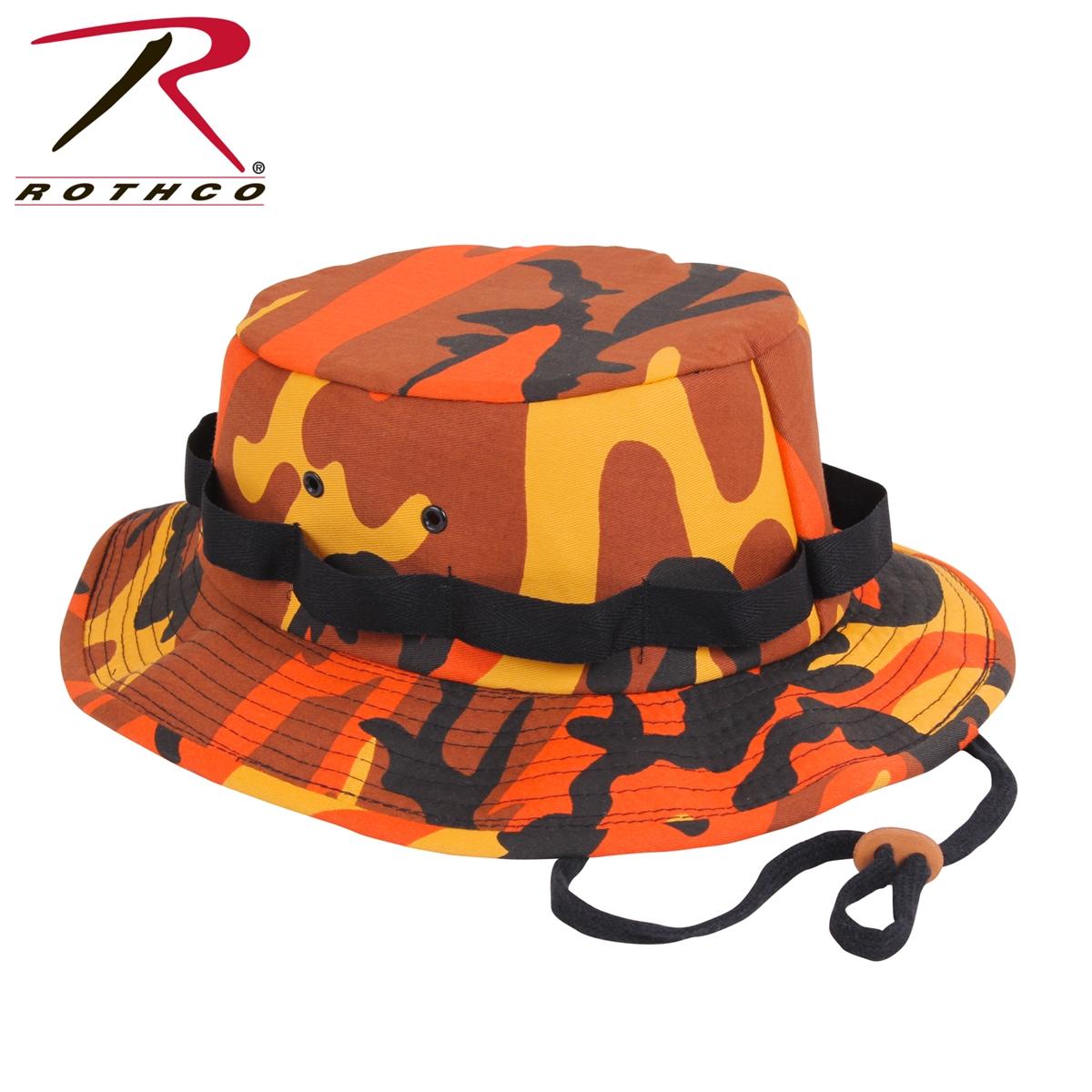Rothco Camo Jungle Hat - Savage Orange · Larger Photo eb20317ff40