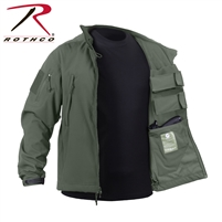 Rothco Concealed Carry Soft Shell Jacket - Olive