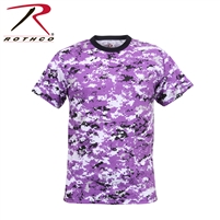 Rothco Digital Camo T-Shirt - Ultra Violet