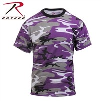 Rothco Colored Camo T-Shirt - Ultra Violet