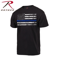 Rothco Thin Blue Line Flag T Shirt
