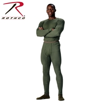 Rothco Thermal Knit Underwear Top - Olive Drab