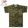 Rothco Digital Camo T-Shirt - Woodland