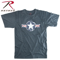 Rothco Vintage Army Air Corps T-Shirt - Blue