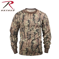 Rothco Long Sleeve Camo T-Shirt - Smokey Branch