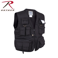 Rothco Uncle Milty Travel Vest - Black - 4XL