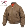 Rothco MA-1 Flight Jacket-Coyote Brown