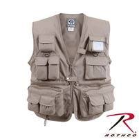 Rothco Uncle Milty Travel Vest - Khaki