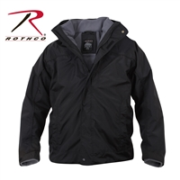 Rothco All Weather 3 In 1 Jacket - Black