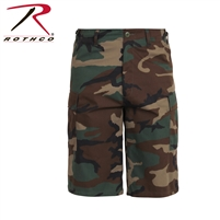 Rothco Long Length Camo BDU Short - Woodland