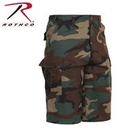 Rothco Long Length Camo BDU Short - Woodland - 2XL