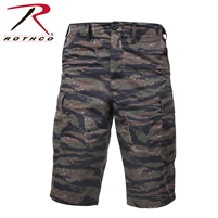 Rothco Long Length Camo BDU Short - Tiger Stripe