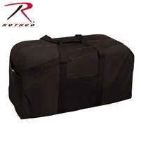 Rothco Canvas Jumbo Cargo Bag - Black