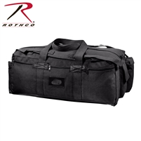 Rothco Mossad Tactical Duffle Bag - Black