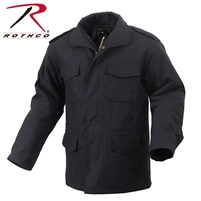 Rothco M-65 Field Jacket - Black - 3XL