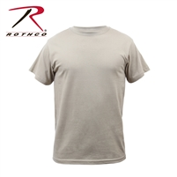 Rothco Solid Color 100% Cotton T-Shirt - Desert Sand - 2XL