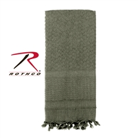 Rothco Solid Color Shemagh Tactical Desert Scarf - Foliage