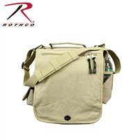 Rothco Canvas M-51 Engineers Field Bag - Khaki