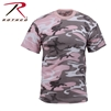 Rothco Colored Camo T-Shirt - Subdued Pink