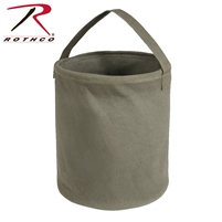 Rothco Canvas Water Bucket - Olive - Large