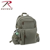 Rothco Jumbo Vintage Canvas Backpack - Olive Drab