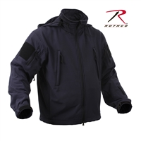 Rothco Special Ops Tactical Soft Shell Jacket - Midnight Blue - 3XL
