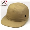 Rothco 5 Panel Military Street Cap - Khaki