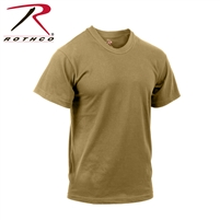 Rothco Moisture Wicking T-Shirt - Brown 3XL