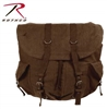 Rothco Vintage Weekender Canvas Backpack Brown