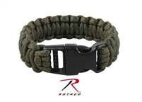 Rothco Deluxe Paracord Bracelets - Olive